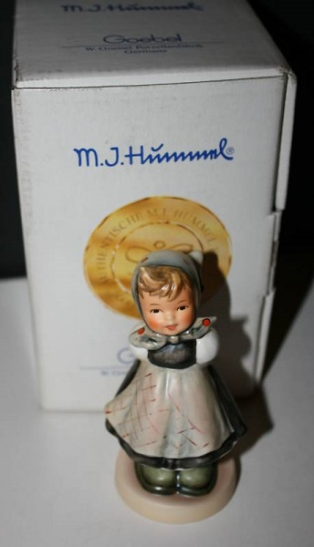 hummel figurine all smiles
