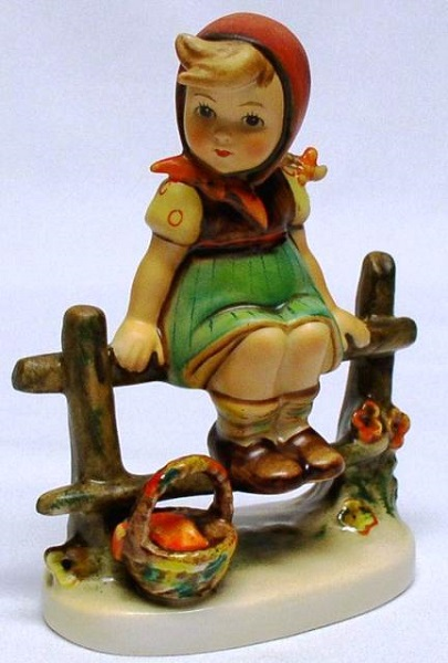 hummel figurine just resting
