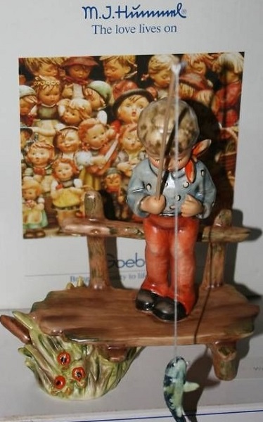 hummel figurine the angler