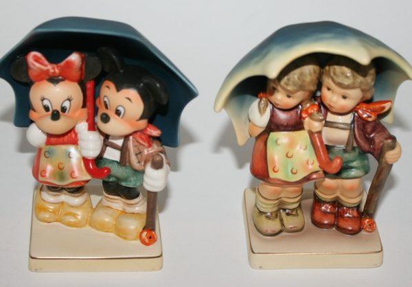 HUMMEL GOEBEL DISNEY STORMY WEATHER & RAINY TIMES SET
